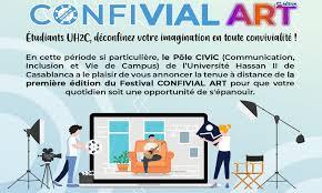 «ConfivialArt» L'Université Hassan II organise son festival culturel à distance