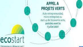 Économie verte lancement de l'appel à projets « Ecostart »