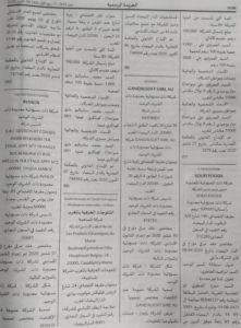 Annonce légale nomination d'un nouveau gérant soufi foods