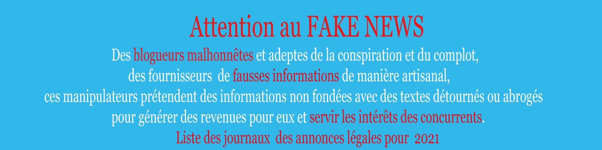 Liste des journaux habilités à publier des annonces légales au Maroc pour 2020
