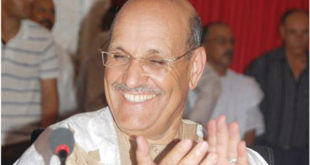 Hamdi Ould Errachid en haut du podium à Laâyoune